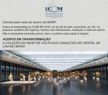 Assembleia do ICOM BR e visita ao MASP